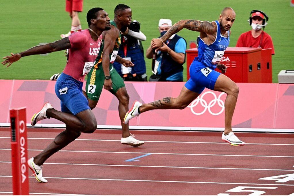 Poesia sportiva: L'atletica italiana dipinge Olimpia di tricolore. Ph AFP