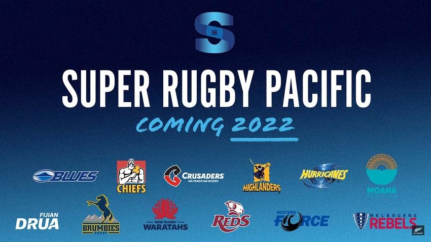 """Ufficializzato il formato del Super Rugby 2022, che si chiamera """"Pacific"""""""