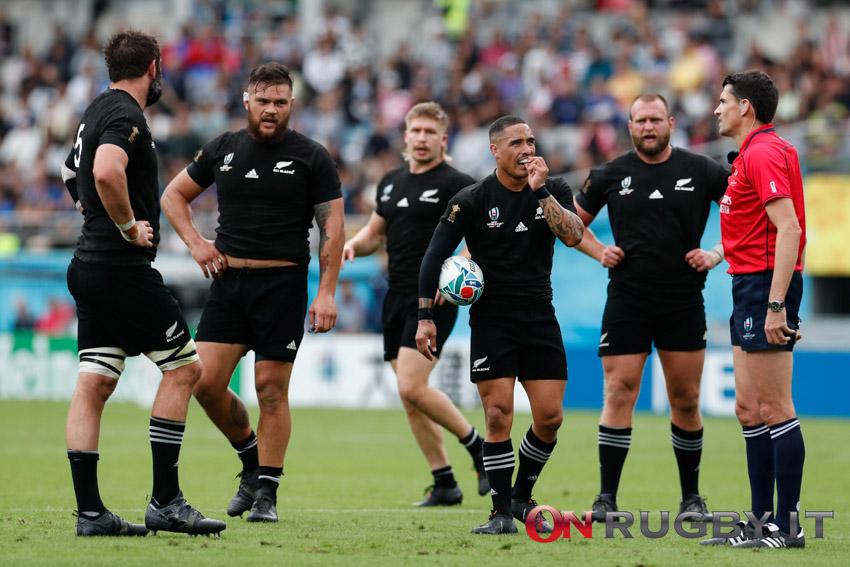 All Blacks: una pesante perdita per il resto del Rugby Championship 2021