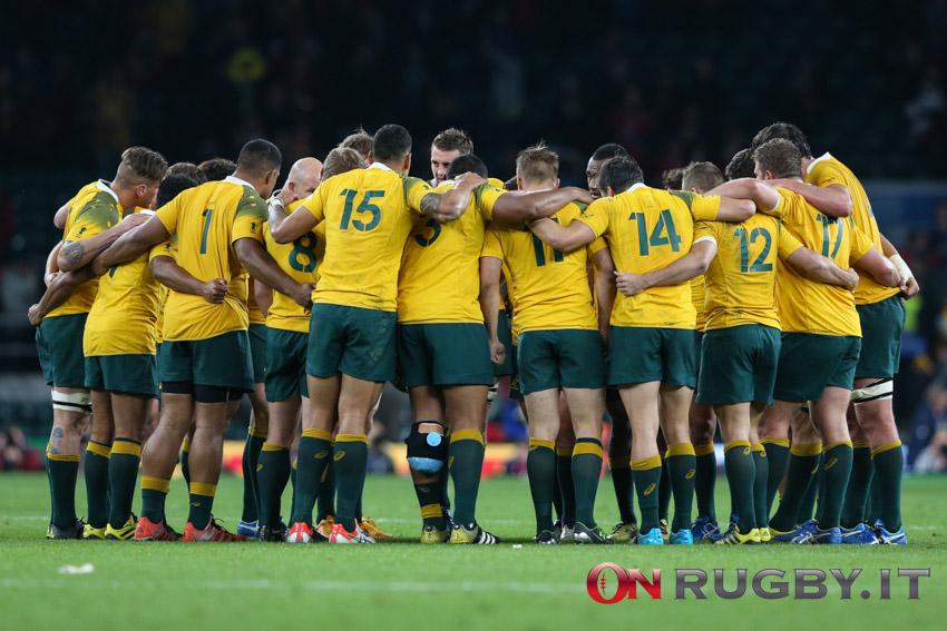 Test Match Novembre 2021: i convocati dell'Australia