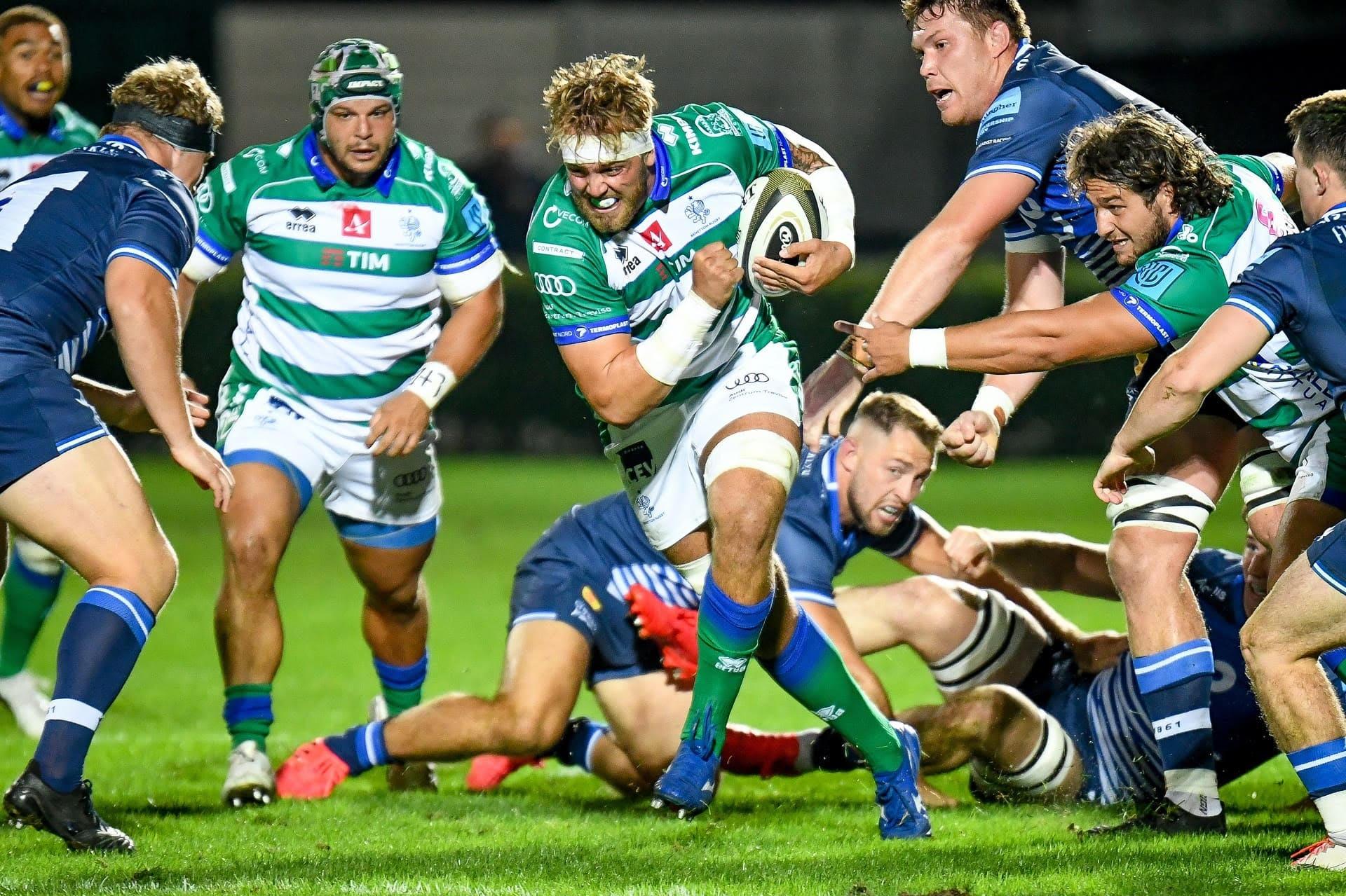 Benetton sconfitto nella prima amichevole: i Sale Sharks passano 28-19 (Ph. Benetton Rugby)