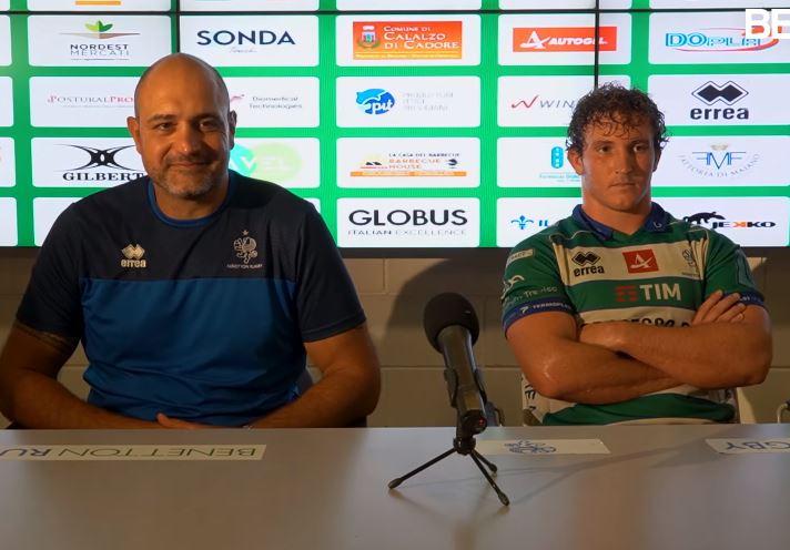 Bortolami e Lamaro - Benetton Rugby