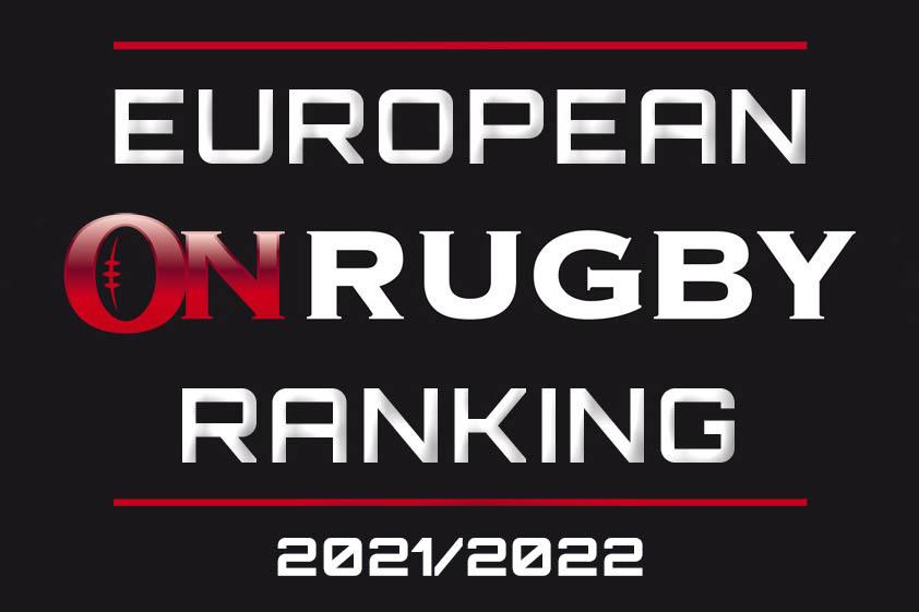European OnRugby Ranking 2021/2022