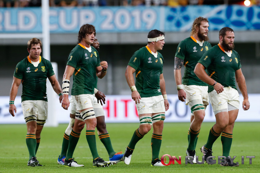 Rugby Championship 2021: gli Springboks non vedono l'ora di ripartire