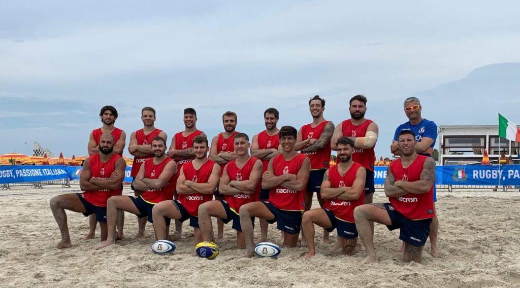Europei di beach rugby: i convocati dell'Italia