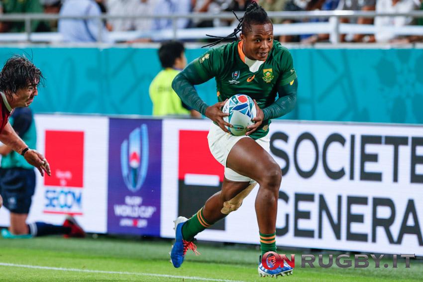 Rugby Championship 2021: la formazione del Sudafrica per la rivincita contro l'Australia