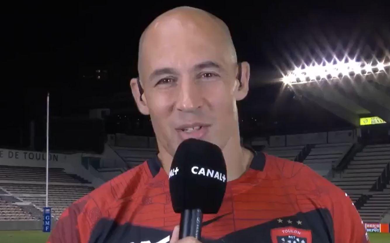 Sergio Parisse è riuscito a far ridere Sébastien Chabal