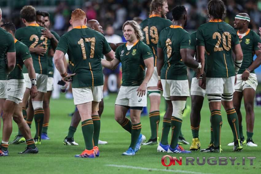 """Sudafrica, gli Springboks uniti anche nella sconfitta: """"Crediamo nel nostro piano di gioco"""""""