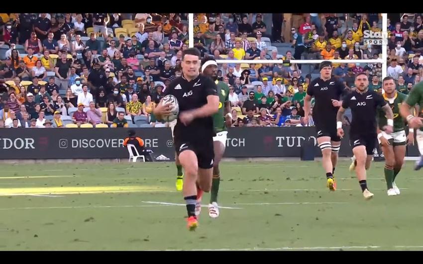 Rugby Championship: gli highlights di Nuova Zelanda-Sudafrica