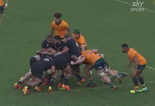 highlights: Australia v All Blacks 21-38