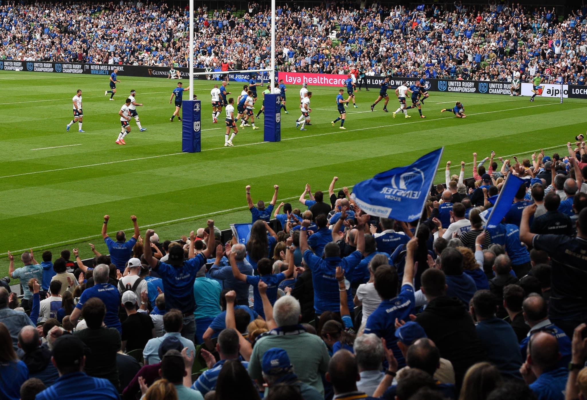 URC, i risultati della prima giornata: dominio Leinster, delusione per le sudafricane (ph. Leinster Rugby)