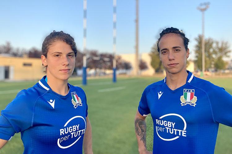"""""""Rugby x tutte"""": il messaggio sulla maglia dell'Italia femminile verso la RWC. PH. FIR"""