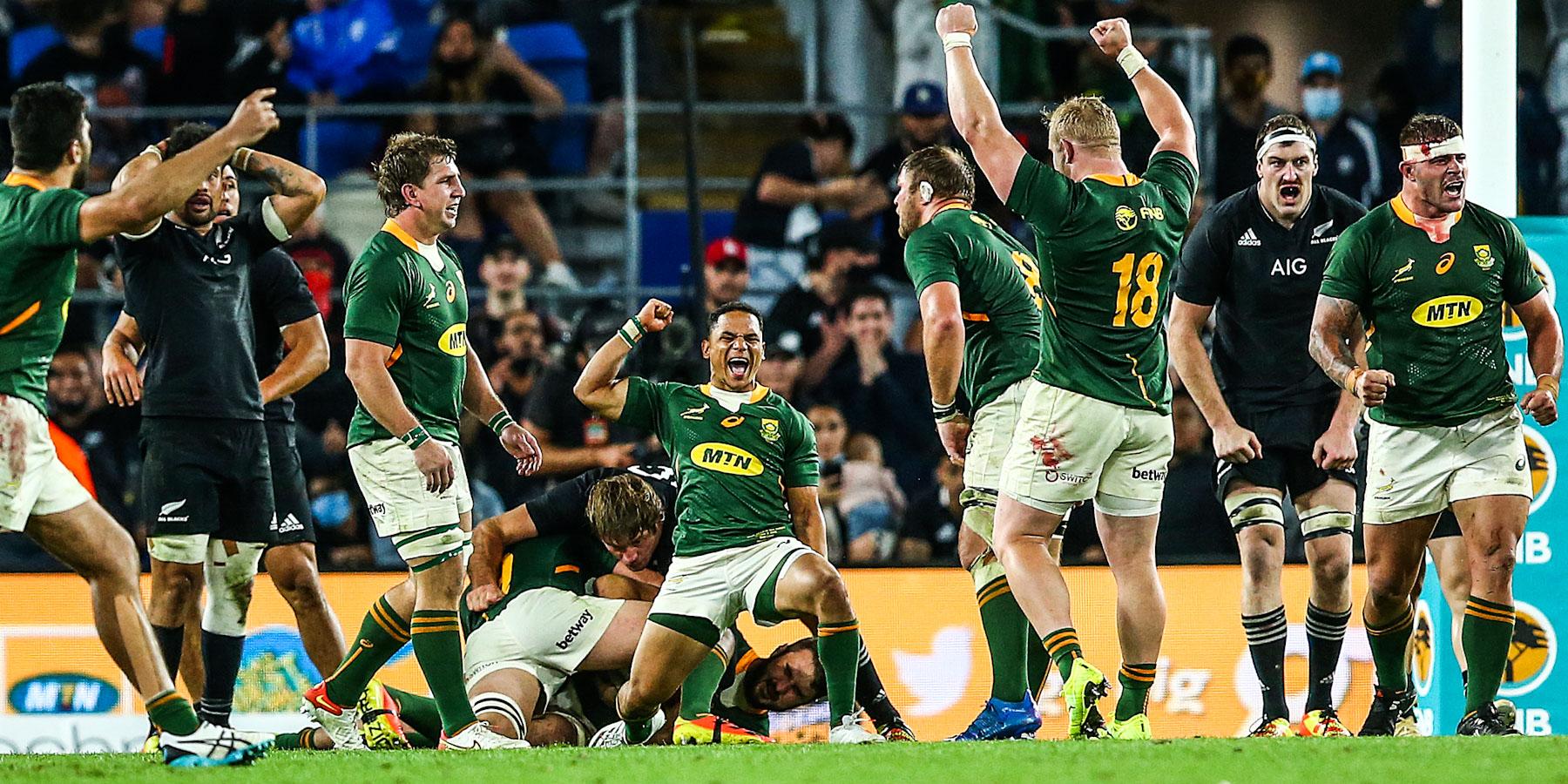 Video: gli Highlights di Sudafrica-Nuova Zelanda (ph. @Springboks)